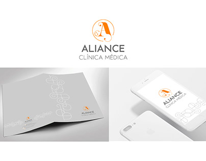 Marca e id. visual   Aliance Clínica Médica