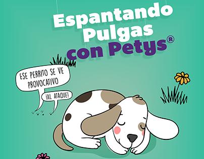 Espantando pulgas con Petys® / Contenido digital