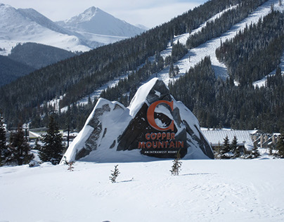 Copper Mountain Resort Entry