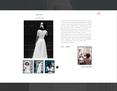 Webdesign - Projet Céline Ménard