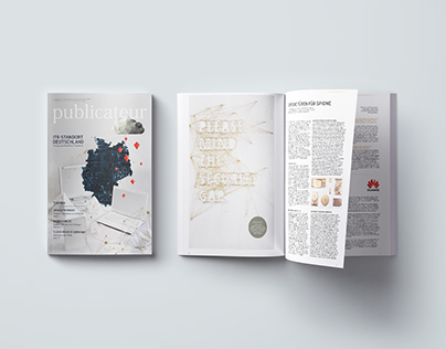 publicateur newspaper #01 | Illustration and layout