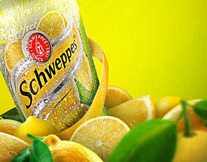 Schweppes (tangerine and lemon)