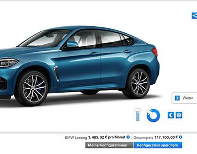 BMW vehicle configurator
