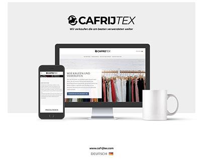 Website / Landing Page Cafrijtex.com | Cafrijtex