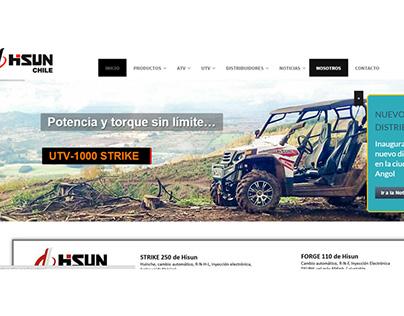 Proyecto web Hisun motors