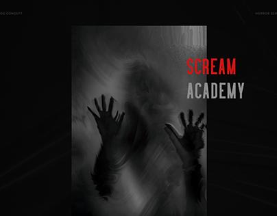 Blog Horror concept, Scream Academy