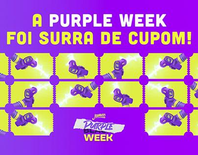 Purple Week James