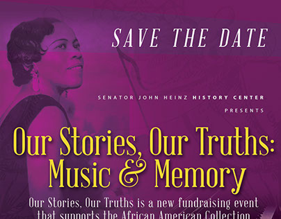 Heinz History Center - Save the Date