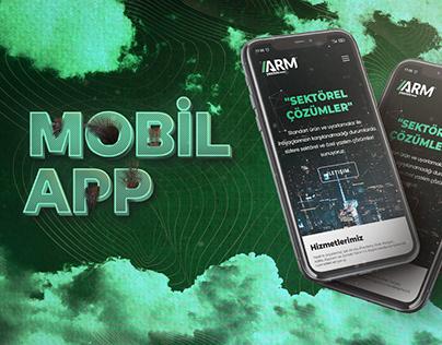 "Arm Yazılım - Tanıtım Filmi   ""Mobil App"""