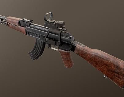 AK-47 & Reflex sight