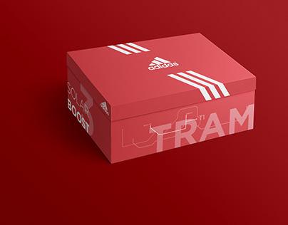 Adidas - Istanbul Transportation Packaging Design