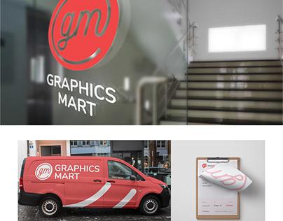 Graphics Mart Brand Identity