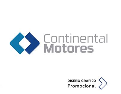 Diseño Gráfico Promocional / Continental Motores
