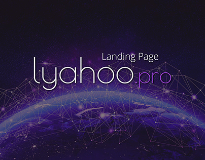 Landing Page for Lyahoo.pro