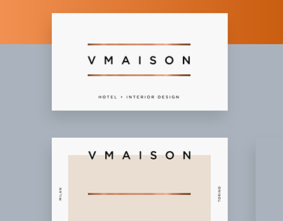 VMaison - Luxury Hotel & Interior Design / 2019