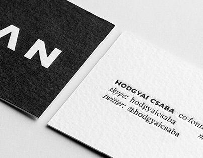 Nōtan business cards