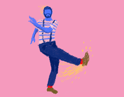 {Animation} Jazz Steps