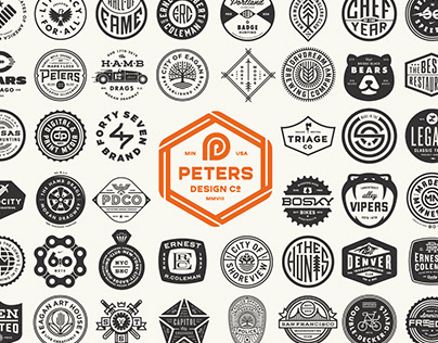 PDCo Badge Logofolio 2000-2020