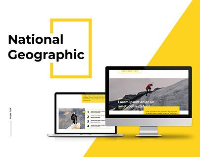 National Geographic • Visual identity // webdesign