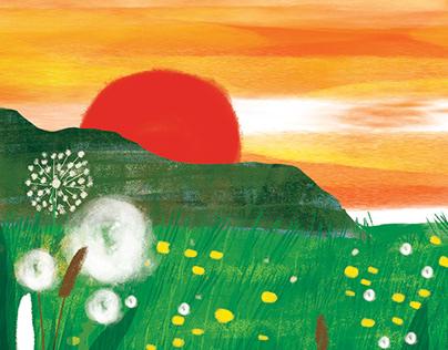 Atmospheric illustrations