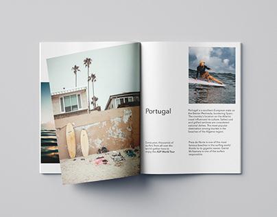 "Magazine design ""Wave it"""