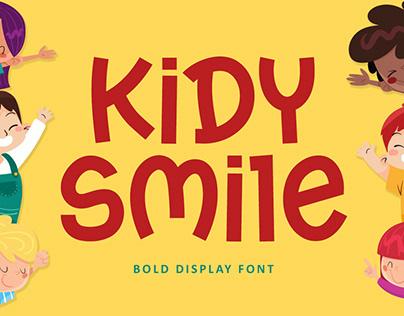 Kidy Smile - Bold Kids Font