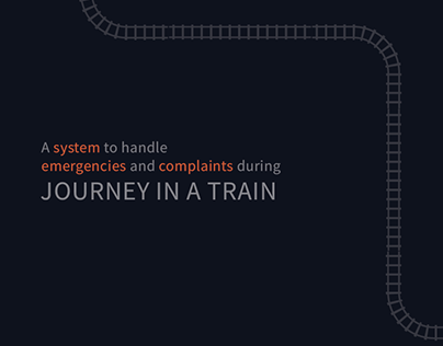 Train Journey - Emergencies and complaints