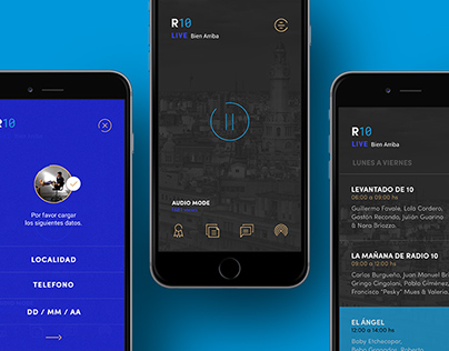 Radio10 (AM 710) | Branding, App & Website Design