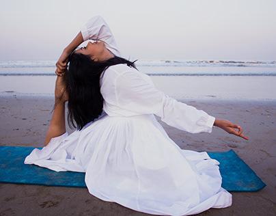 Yoga portfolio shoot