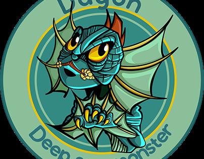 Dagón- H.P. lovecraft- Vector Illustration