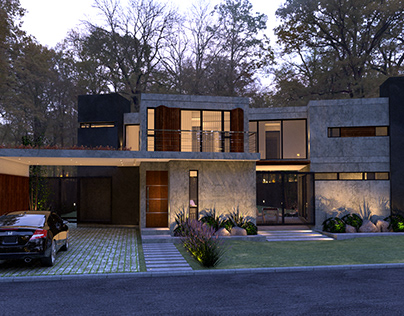 Stages House - Architecture & Visualization