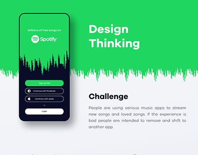 Spotify - Re Design Concept