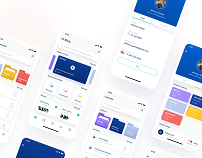 Edtech Mobile App Product design