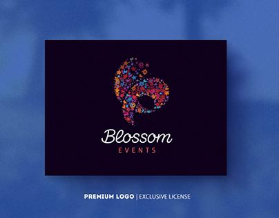 Blossom Events $525-Premium Logo