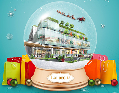 Claymore Connect  Mall Christmas Brochure
