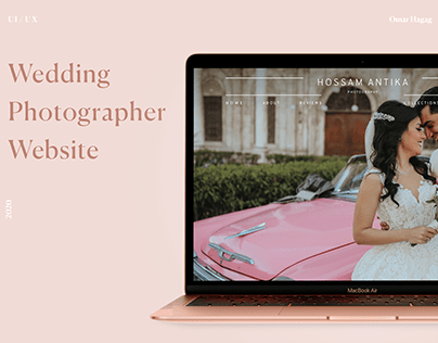 Wedding Photographer - Website