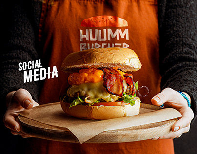 Huumm Burguer | Social Media