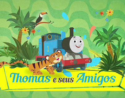 Thomas & Friends Visit Brasil
