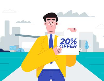 20% Offer-Illustration