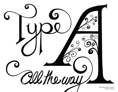 Type A - Lettering