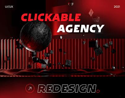 CLICKABLE AGENCY — REDESIGN