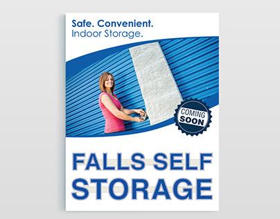 Flyer Designs: Falls Self Storage