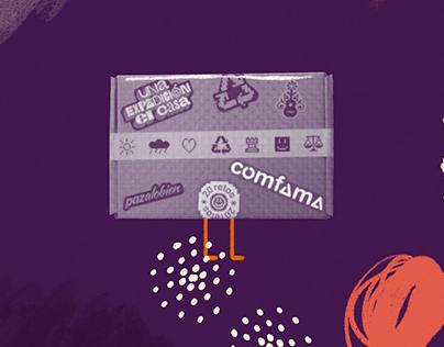 Animation Fundación Mi Sangre - Comfama