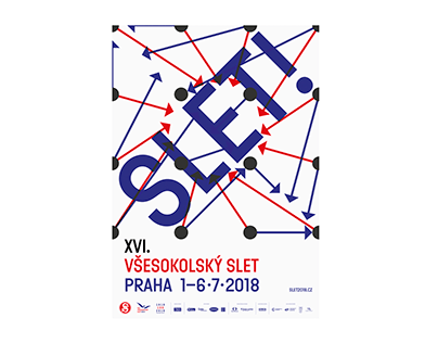 XVIth All-Sokol Slet 2018 – visual identity