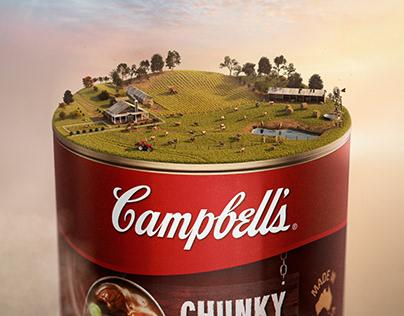 Campbells Soup CGI