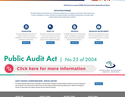 Auditor General of South Africa (AGSA)