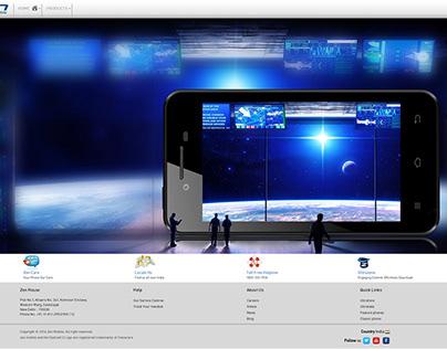 ultrafone 303 Power : Responsive Web Graphics