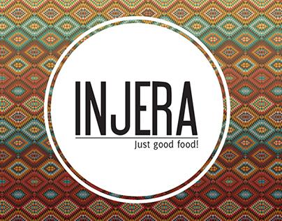 Injera Restaurant Branding