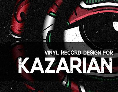 KAZARIAN VINYL RECORD DESIGN