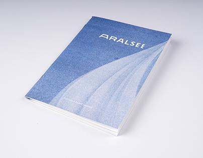 Aral sea booklet – riso print